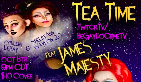 Tea Time on Twitch