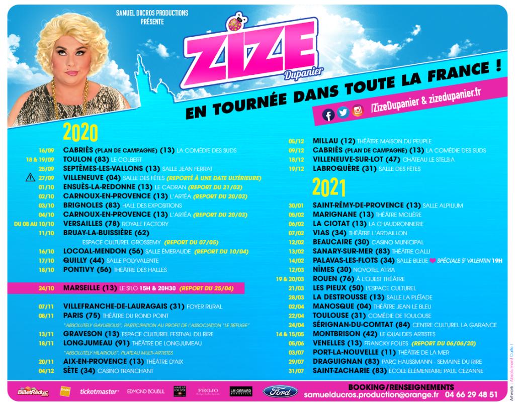 Zize dupanier interview dragqueens.fr visuel tournée