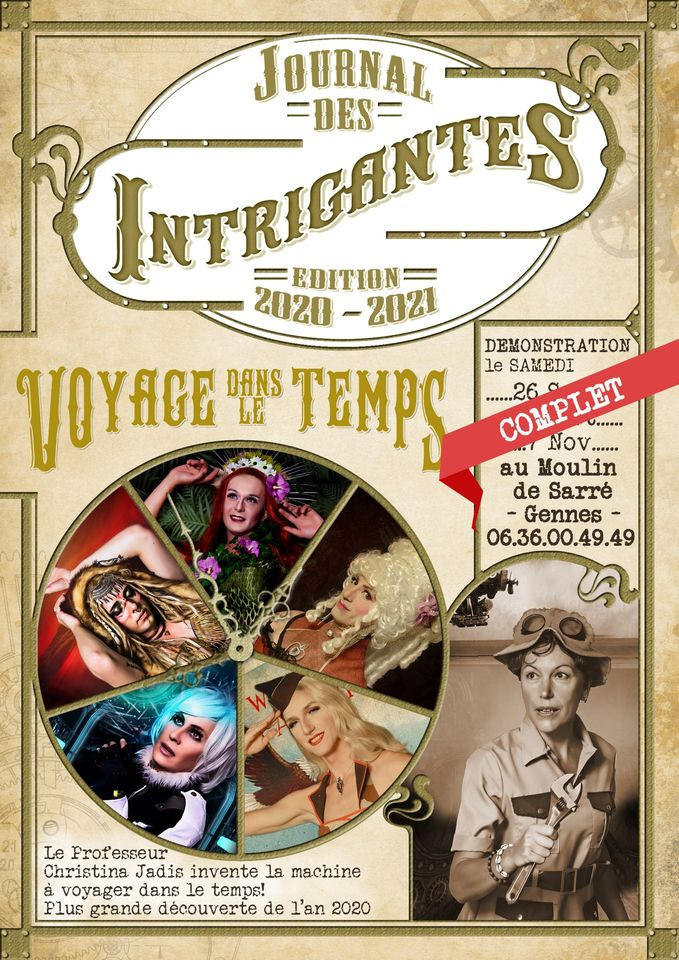 Affiche spectacle Les intrigantes