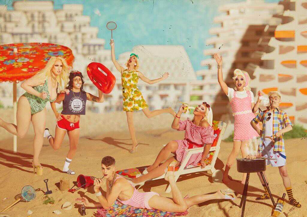 Icee Drag On interview dragqueens.fr calendrier visuel